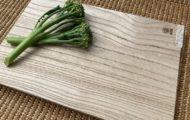 美しく光沢のある木肌。桐の里、三島町の伝統技術が生む会津桐のまな板。